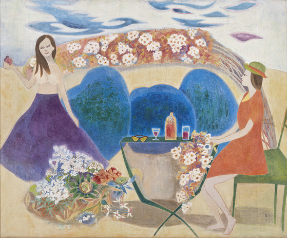 ″Garden″(1962) by Chun Kyungja [MMCA]