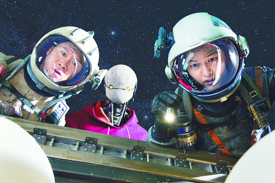 """A scene from Korean sci-fi blockbuster """"Space Sweepers"""" on Netflix. [NETFLIX]"""