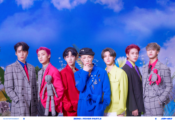 The concept photo released on Tuesday by boy band Ateez. [KQ ENTERTAINMENT]