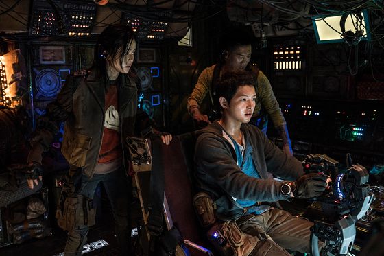 Song portrays Tae-ho, a space pilot who's seemingly willing to do anything to earn a bit of cash. [NETFLIX]