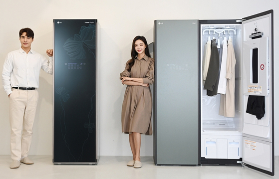 LG Electronics' clothes steam cleaner Styler. [LG ELECTRONICS]
