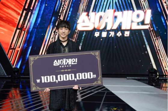 """Singer Lee Seung-yoon was crowned the winner of JTBC's audition show ″Sing Again."""" [JTBC]"""