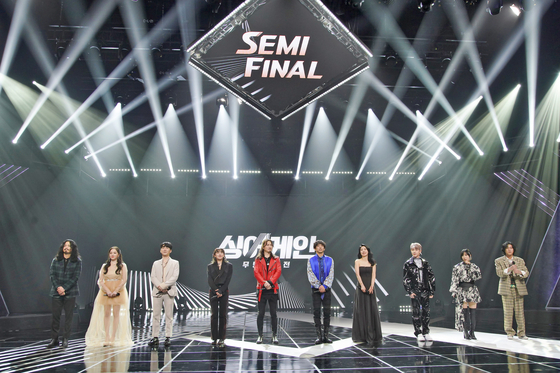 """Top 10 winners of JTBC's hit program """"Sing Again"""" will hold a concert next month. [JTBC]"""
