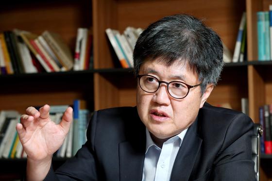 Rep. Yoo Gyeong-joon of the People Power Party.  [JoongAng Photo]
