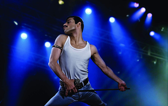 "Actor Rami Malek portraying the late Freddie Mercury in the 2018 film ""Bohemian Rhapsody."" [20TH CENTURY FOX]"