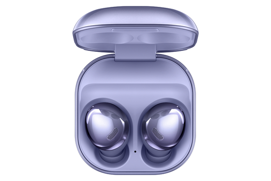 Galaxy Buds Pro, Samsung's best-ever earbuds, offer a one-of-a-kind audio experience with unrivalled sound quality and seamless connectivity. [SAMSUNG ELECTRONICS]