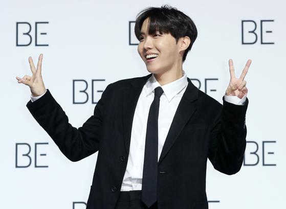 J-Hope of boy band BTS [NEWS1]