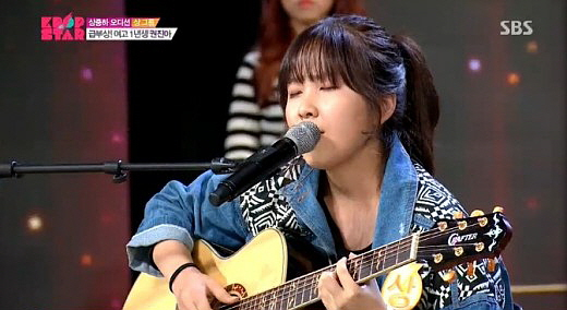 """Before her debut, Kwon was a contestant on the SBS audition program """"Kpop Star"""" (2013-2014). [SBS]"""