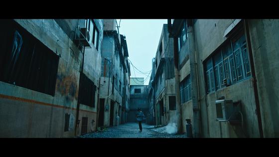 """A scene from U-Know Yunho's music video """"Thank You"""" is filmed in old industrial complex in Namyangju, Gyeonggi. [SM ENTERTAINMENT]"""