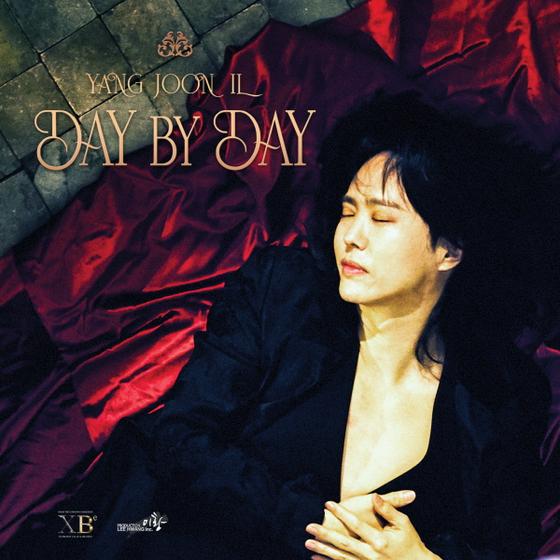 "The cover of Yang Joon-il's upcoming mini album ""Day By Day."" [PRODUCTION LEE HWANG]"