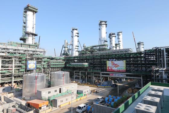 SK Global Chemical's plant in Ulsan [SONG BONG-GEUN]