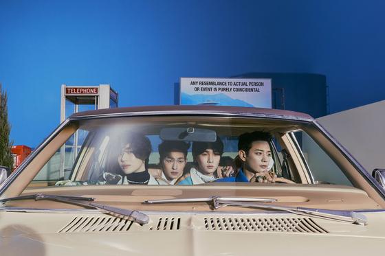 K-pop boy band SHINee [SM ENTERTAINMENT]