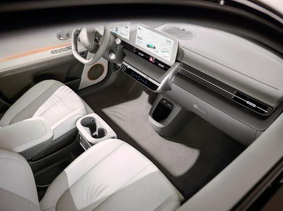 Interior of Hyundai Motor's Ioniq 5 [HYUNDAI MOTOR]