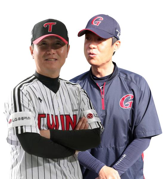 Ryu Ji-hyun and Her Mun-hoe. [ILGAN SPORTS, YONHAP]