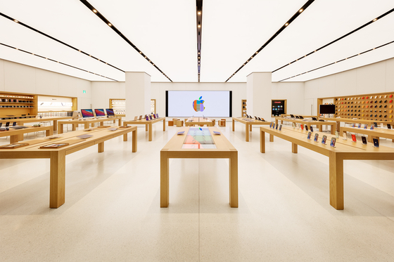 Apple's second store in Korea at IFC Mall in Yeouido, western Seoul. [APPLE]