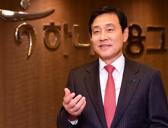 Hana Financial Group Chairman Kim Jung-tai. [HANA FINANCIAL GROUP]