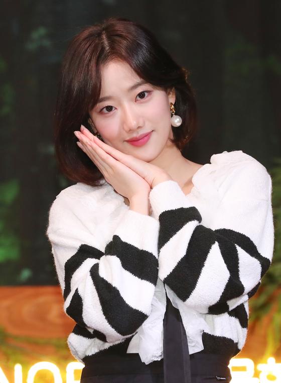 Naeun, member of girl group April. [ILGAN SPORTS]