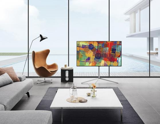 LG Electronics' G1 OLED TV. [LG Electronics]