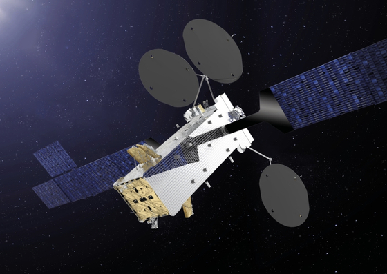 An image of a satellite to be manufactured by Thales Alenia Space. [THALES ALENIA SPACE]