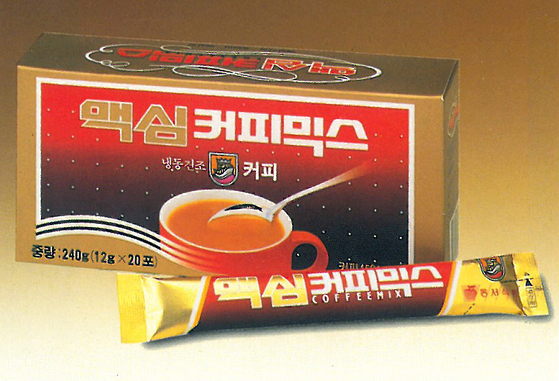 Dongsuh Food's Maxim coffee mix which was first released in 1987. [DONGSUH FOODS]