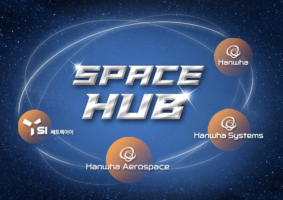 Image of Space Hub team. [HANWHA AEROSPACE]