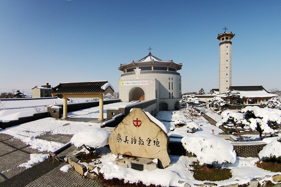 Haemi Martyrdom Holy Ground in Seosan, South Chungcheong. [YONHAP]