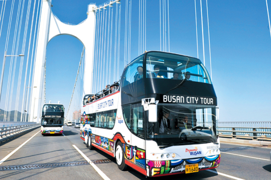 Busan is starting its City Tour Bus programs again, which were halted due to stricter social distancing measures during winter. [BUSAN TOURISM ORGANIZATION]