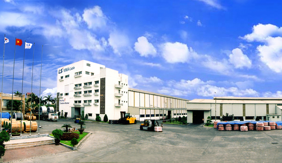 LS-VINA's factory in Vietnam. [LS CABLE & SYSTEMS ASIA]