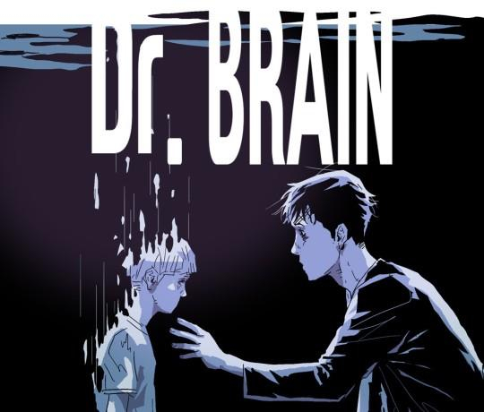 An image of webtoon Dr. Brain. Apple TV+ said Monday it will reveal its first Korean drama, which is being produced based on the webtoon, by the end of the year. Actor Lee Sun-kyun plays the main character. [YONHAP]