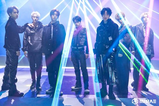 Boy band Mirae [DSP Media]