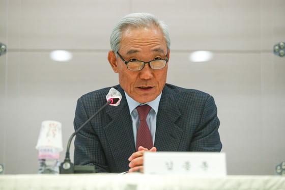 SK Innovation board chairman Kim Jong-hoon [JOONGANG PHOTO]