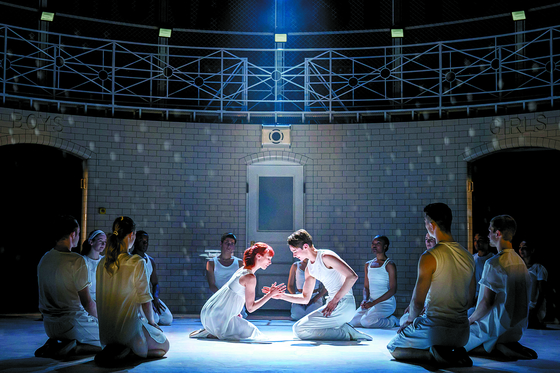 """A scene from Bourne's 2019 ballet """"Romeo and Juliet."""" [LG ARTS CENTER]"""