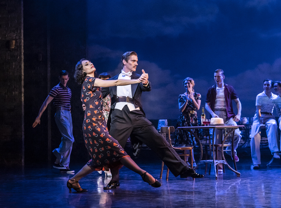 """A scene from Bourne's 2016 ballet """"The Red Shoes."""" [LG ARTS CENTER]"""