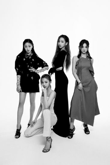 In February, luxury fashion brand Givenchy selected SM Entertainment's rising K-pop girl group aespa as its new brand ambassador. [GIVENCHY]
