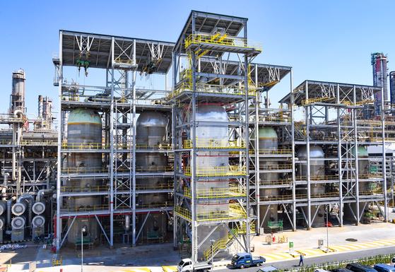 S-Oil's residue hydro-desulfurization unit facilities in Ulsan. [S-OIL]