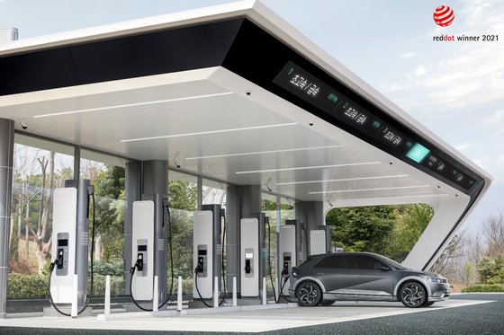 Hyundai Motor Group will build its own electric vehicle (EV) rapid charging infrastructure under the name E-pit. [HYUNDAI MOTOR GROUP]
