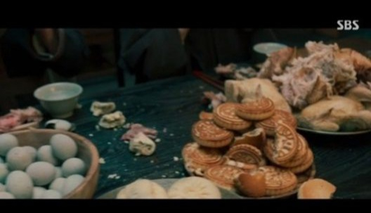 "Chinese food in ""Joseon Exorcist"" [SCREEN CAPTURE]"
