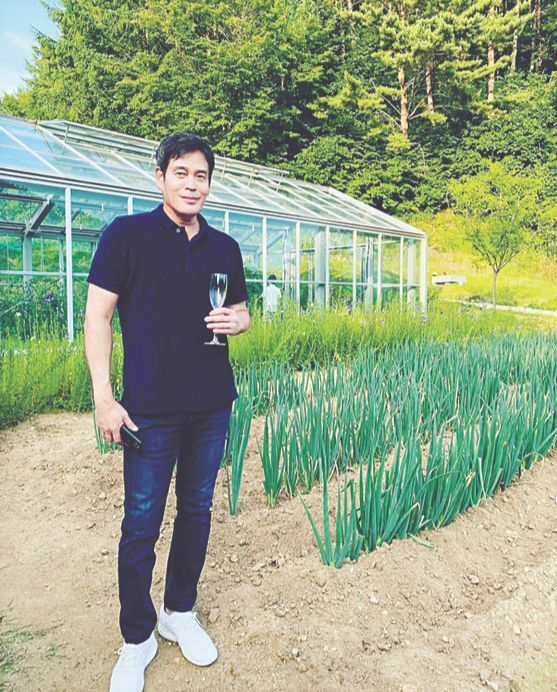 Vice Chairman Chung Yong-jin of the conglomerate Shinsegae Group. [SCREEN CAPTURE]