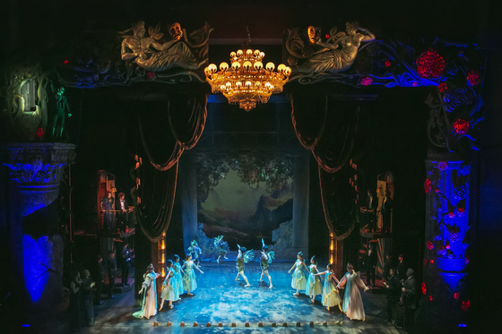 Musical ″Phantom″ is currently being staged at the Charlotte Theater in southern Seoul. [EMK COMPANY]