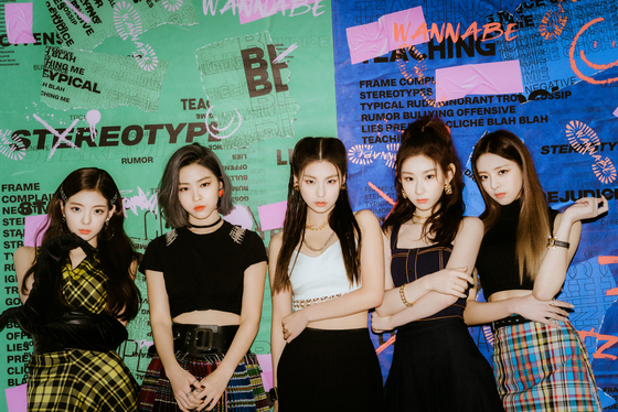 Girl group ITZY [JYP ENTERTAINMENT]
