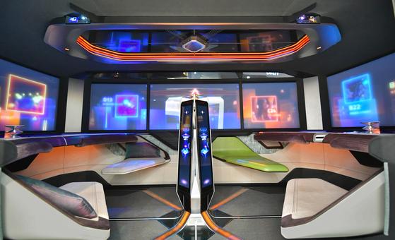 Hyundai Mobis' concept car, M Vision X [HYUNDAI MOBIS]