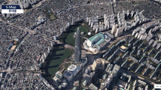 S-Map, a 3-D map of Seoul, was launched on Thursday by the Seoul Metropolitan Government. [SEOUL METROPOLITAN GOVERNMENT]