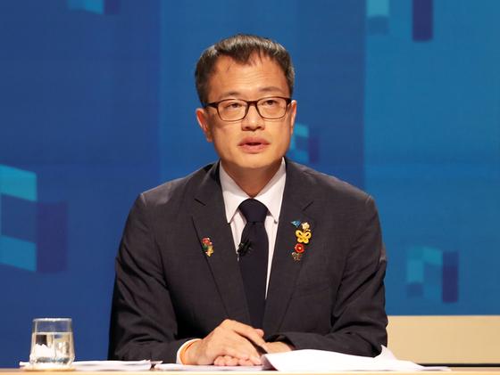 Rep. Park Ju-min of the Democratic Party. [YONHAP]