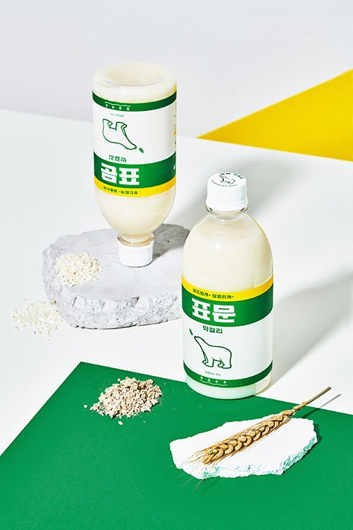 Daehan Flour Mills is planning to release Pyomun Makgeolli on April 4. The flour producer gained popularity after its collaboration with beer, cosmetic and clothing brands. [GOMPYO]