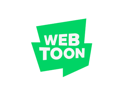 Naver Webtoon has filed for trademark rights for its logo with the word ″webtoon″ written in the middle of a green-colored shape. [NAVER WEBTOON]