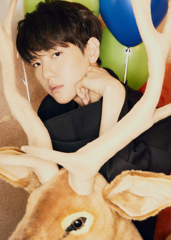 Baekhyun of boy band Exo [SM ENTERTAINMENT]