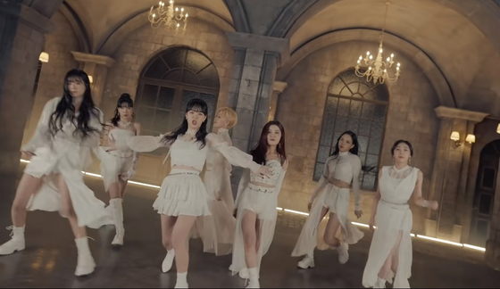 A captured image from the music video of Azer's debut track ″Elegante,″ which was released last month. [SCREEN CAPTURE]