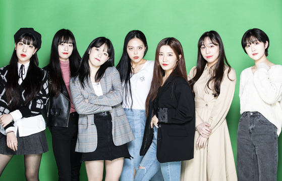 Azer, a newly-debuted K-pop girl group, consists of seven students from Howon University's K-pop department. [KWON HYUK-JAE]