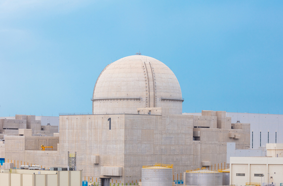Barakah nuclear power plant in UAE. ]KEPCO]