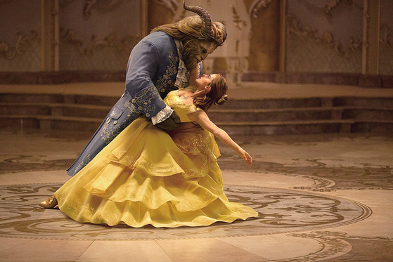 """A scene from the live-action adaptation of Disney's """"Beauty and the Beast."""" (2017). At the upcoming """"Disney in Concert,"""" its theme song """"Evermore"""" will be performed for the first time. [DISNEY/PIXAR]"""